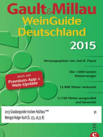 2013 Grauburgunder *** Holger Koch i Kaiserstuhl blandt Badens 10 bedste vine årgang 2013